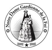 Notre-Dame Gardienne de la Foi